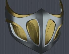 3D printable model MK11 Scorpion Mask V6 - STL File