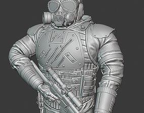 3D print model soldier metro 2035