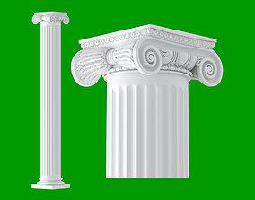 3D Roman Ionic