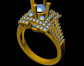3D print model DiamondRing proposal jewels