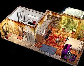 3D model Kids room game