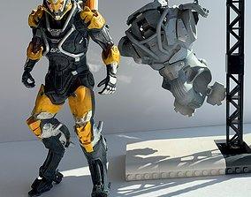 3D printable model Anthem Ranger Javelin and Colossus