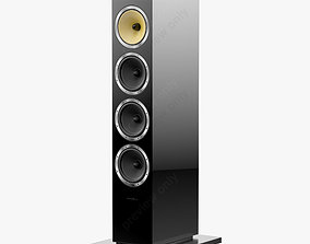 3D Bowers and Wilkins CM 10 Black Gloss