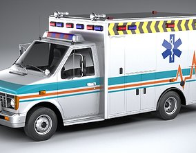 Generic Ambulance Classic 3D