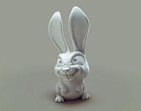 3D print model cute Bulk the mad rabbit