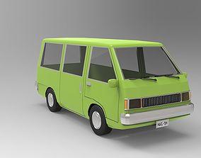 Minivan 3D model