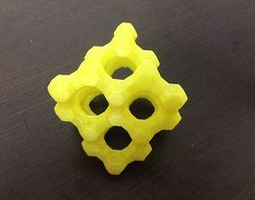 3D print model Large FAU-type Zeolite
