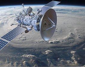 Orbiting Satelite 3D model