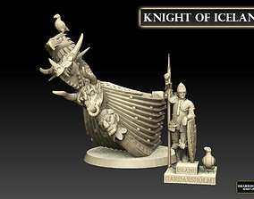 3D print model Knight of Iceland