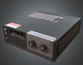 80s - Sound Mixer 3D asset