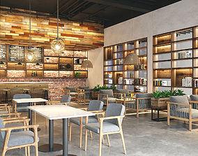 Restaurant Coffee Tropical 3D model