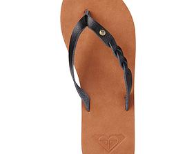 3D model Sandals Brown