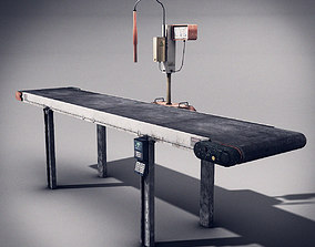 3D model Belt Conveyor
