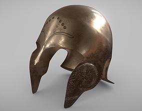Gallic helmet 3D asset
