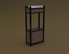 3D model Trade stand 07 R