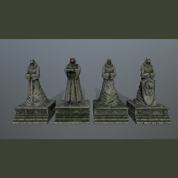 statue set
