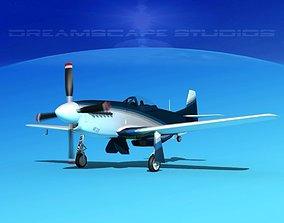 3D P-51 Mustang Sport V08