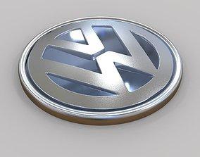 VW Logo Volkswagon Logo 3D printable model