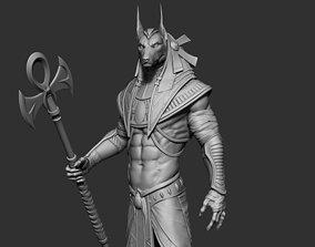 Anubis 3D Print Model character