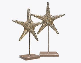 3D model Sea star sculpture