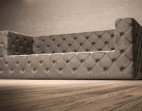 Chesterfield Modern Sofa 3D model
