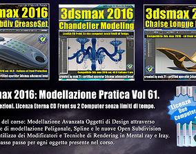 061 3ds max 2016 Modellazione Pratica Cd Front V 61