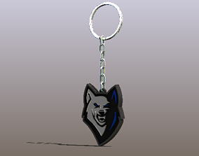 3D printable model Cool Fox Keychain