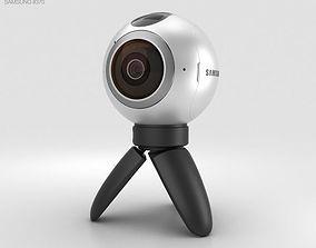 3D model Samsung Gear 360 Camera