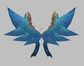 Blue Wing 3D model
