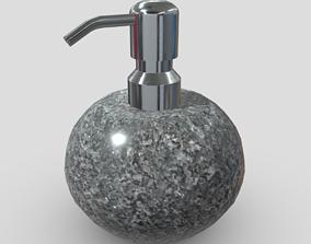 Soap Dispenser 6 3D asset