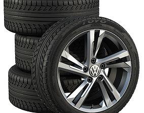 Volkswagen wheels 3D