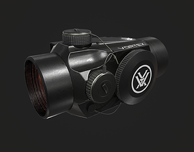 3D asset Red Dot Sight