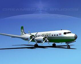 3D Douglas DC-7C Air Atlantic