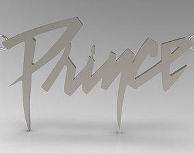 Prince Name Tag Pendant 3D print model