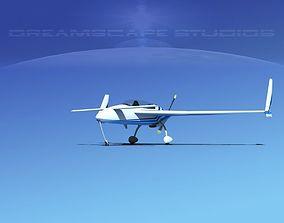 Rutan Long-EZ V08 3D model