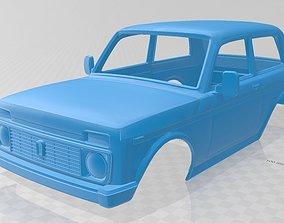 Lada Niva Printable Body Car hobby