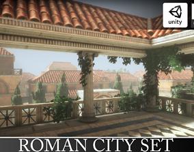 Roman City Set 3D