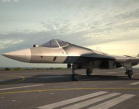 Sukhoi PAK FA T-50 3D