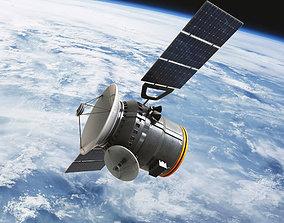 3D model Communications Satellite
