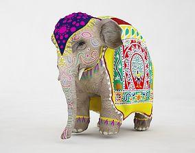 3D model Asiatic Elephant