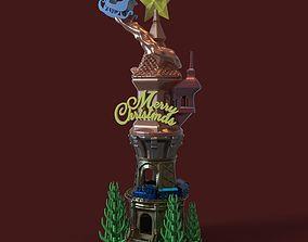 3D printable model CHRISTMAS TOWER