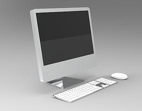 Desktop Computer 3D print model