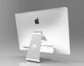 Apple iMac computer 3D model macintosh