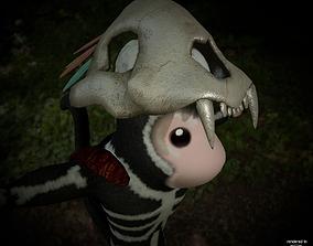 3D asset Shaman Monkey