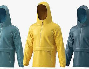 Waterproof Jacket 3D
