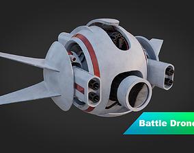 3D model Transforming Battle-Drone