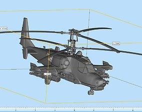3D printable model Kamov Ka-50 Highly Detailed