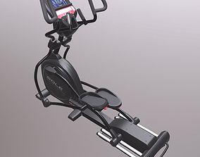 Exercise bike 3D asset