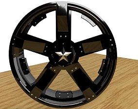 3D model Llanta 01