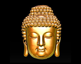 Buddha Face Pendant Ready For 3D Print 3D print